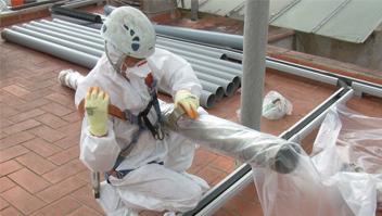 Seguridad y Salud en trabajos con exposición a amianto