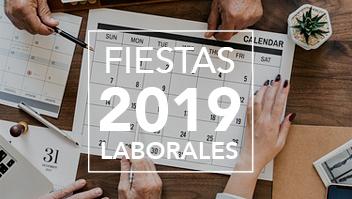 Fiestas laborales 2019 Comunidad de Madrid
