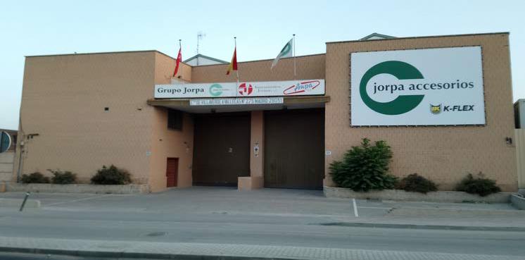 Instalaciones Grupo Jorpa Accesorios, S.A.