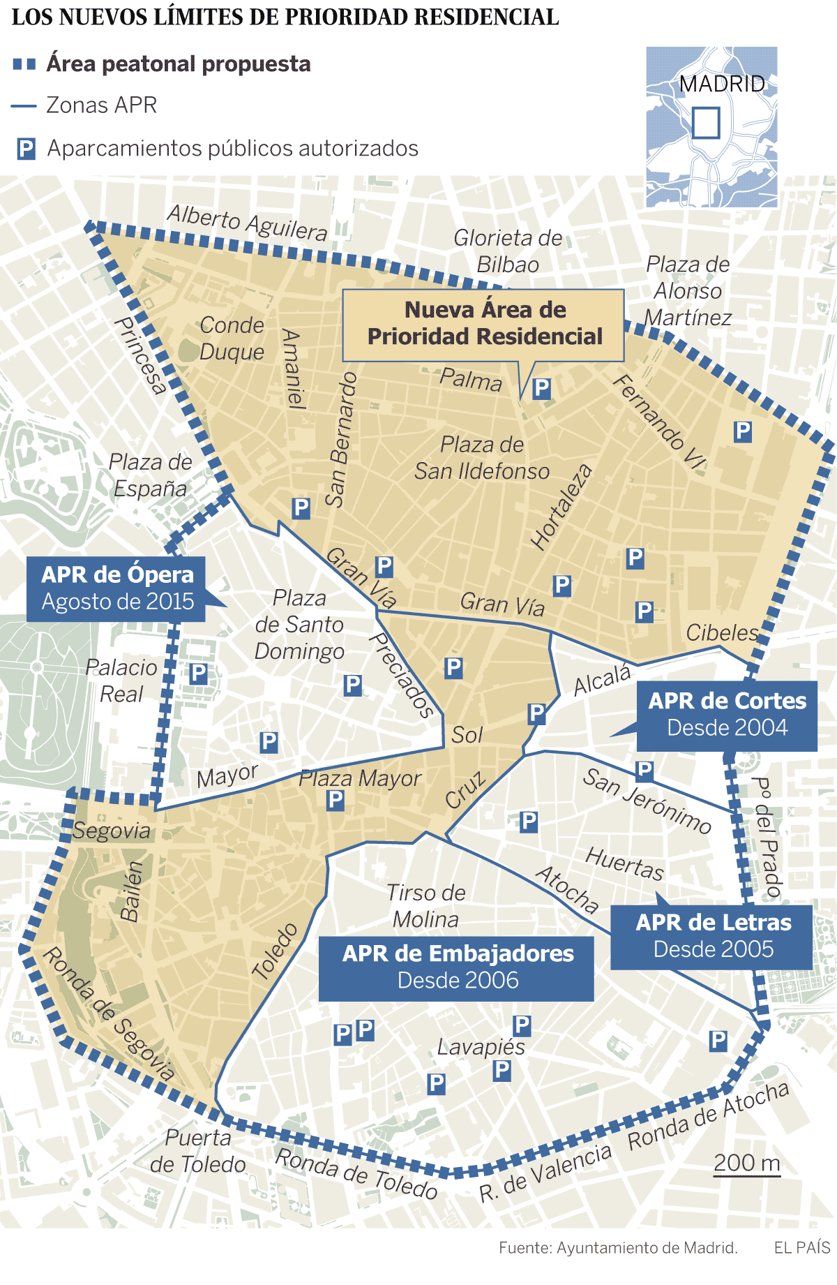 Mapa Zona Azul Y Verde Madrid.Acceso A Madrid Central Para Vehiculos Profesionales