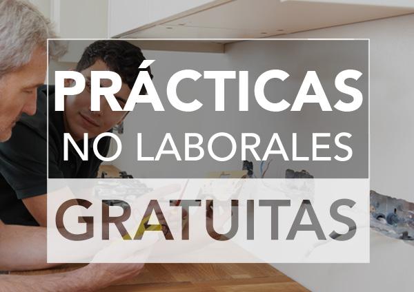 Prácticas no laborales gratuitas