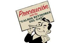 falso revisor gas