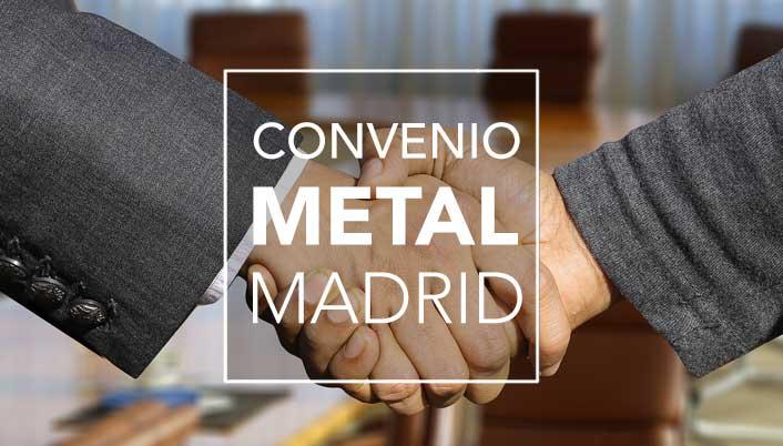 Se ha firmado el Convenio del Metal para 2018 con un impulso a la flexibilidad y a la competitividad