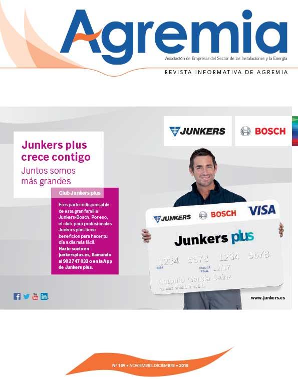 Revista n1 189 de Agremia (nov-dic 2018)