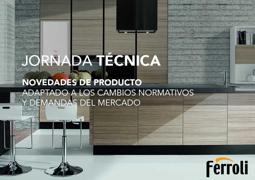 Jornada técnica FERROLI: novedades de producto adaptado a normativa y demanda del mercado