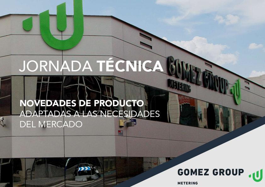 Jornada de presentación de productos de Gómez Group Meetering