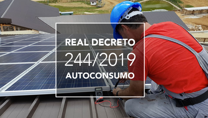 RD 244/2019 de Autoconsumo