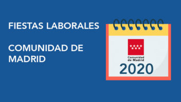 Fiestas laborales 2020 Madrid