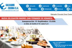 Nueva delegación Madrid Salvador Escoda