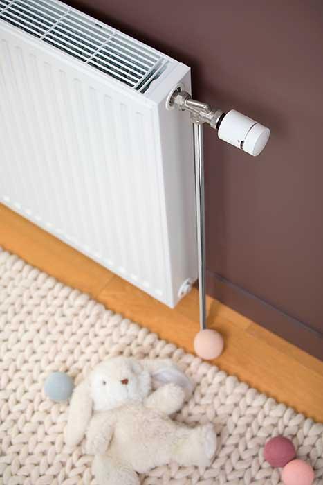 sistema de calefacción inteligente de Schneider