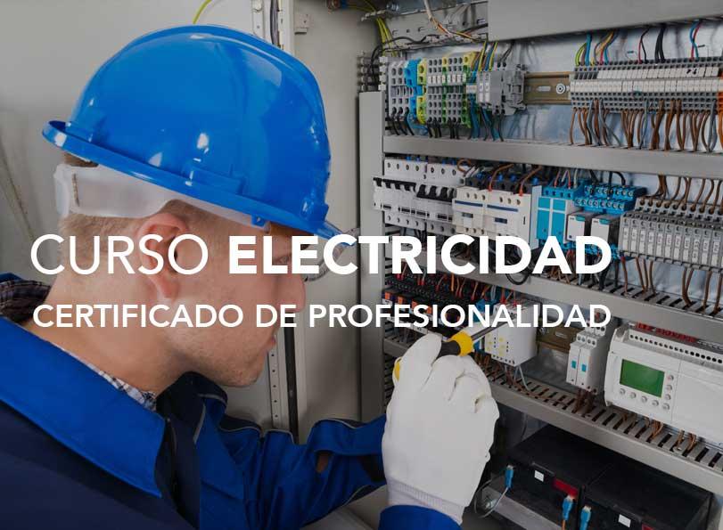 Curso Certificado de Profesionalidad en Electricidad