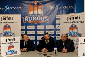 Ferroli patrocina al Club de Baloncesto