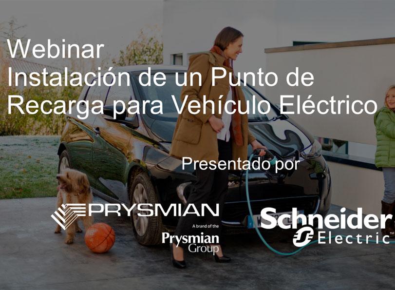 Webinar vehículo eléctrico Schneider