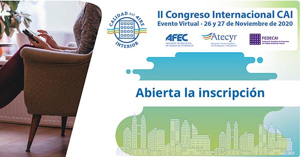 II Congreso Internacional de Calidad de Aire Interior Congreso (CAI) 2020