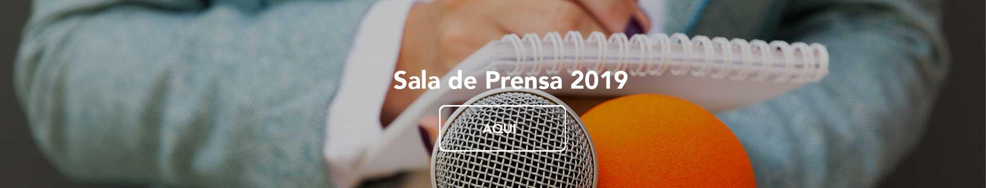 Sala de Prensa Agremia 2019