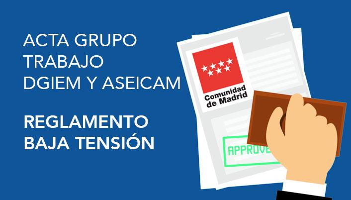 Acta Grupo TRABAJO REBT