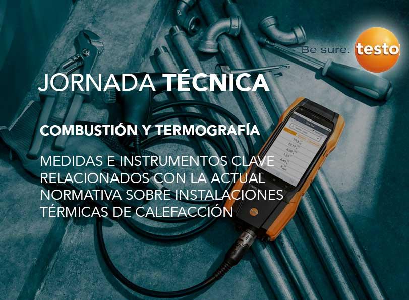 Jornada TESTO: Combustión y termografía, medidas e instrumentos clave