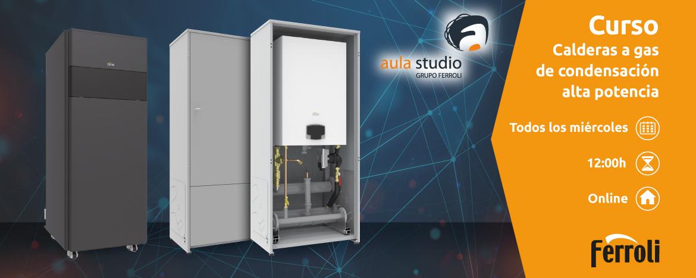 Webinar FERROLI: Instalación calderas a gas de alta potencia