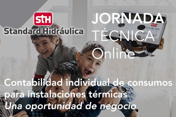 Jornada Online STANDARD HIDRÁULICA: Contabilidad individual de consumos para instalaciones térmicas – Una oportunidad de negocio