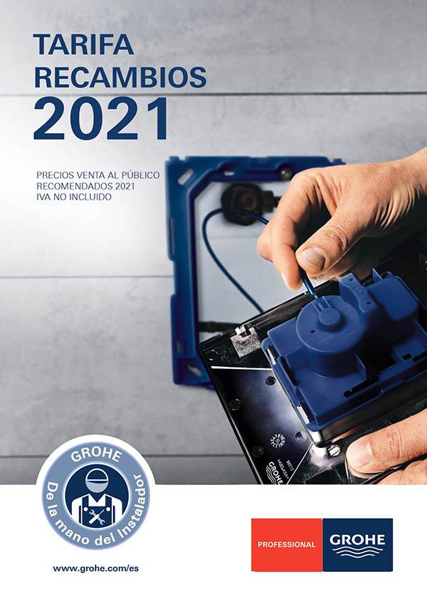 nueva tarifa de recambios 2021